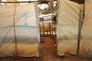 Make-shift synagogue. Kasuku Jewish Community Synagogue. Ol Kalou, Nyandarua, Kenya.