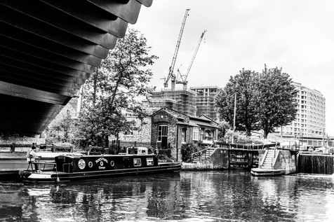 St. Pancras Lock. King's Cross
