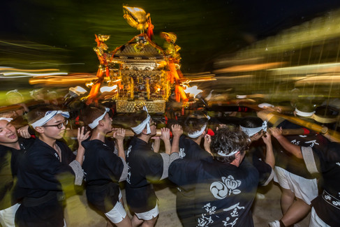 Ikutama Summer Festival, Ikukunitama Shrine. Ikumacho, Osaka, Japan.
