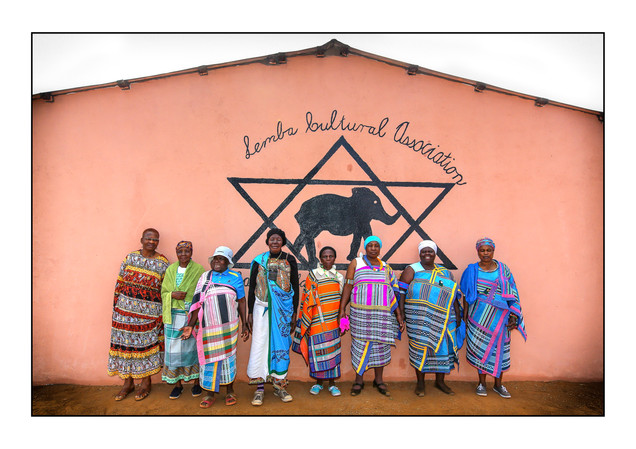 Lemba community members.   Manavhela, Limpopo Province, South Africa.