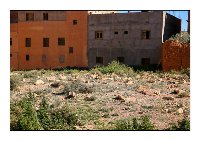 Jewish Cemetery.  Tinghir, Morocco.