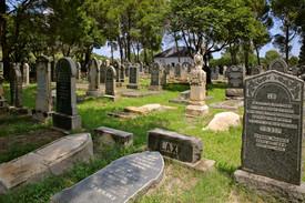 Memoriam Cemetery. Bloemfontein, South Africa.