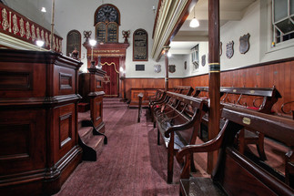 Ballarat Synagogue (Ballarat Hebrew Congregation, She'erit Yisrael). Ballarat, Victoria, Australia.