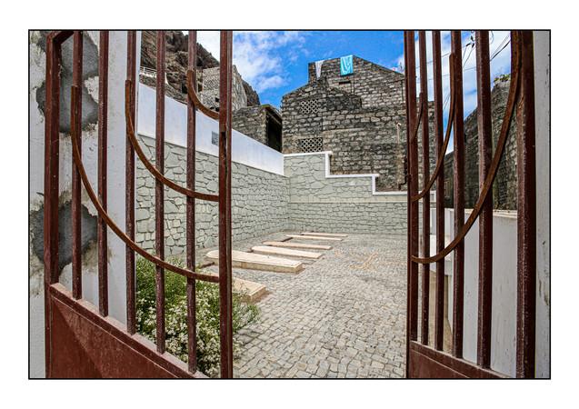 Penha de Franca Jewish Cemetery.  Ribeira Grande, Santo Antao, Cape Verde.