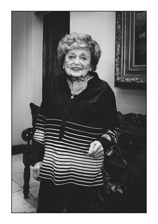 Cecilia Boruchowitz (Latvia), Holocaust survivor.   Johannesburg, Gauteng, South Africa.