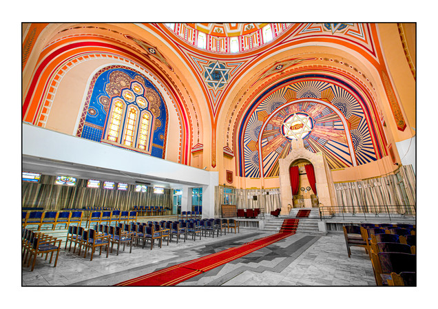 Great (Grand) Synagogue.   Tunis, Tunisia.