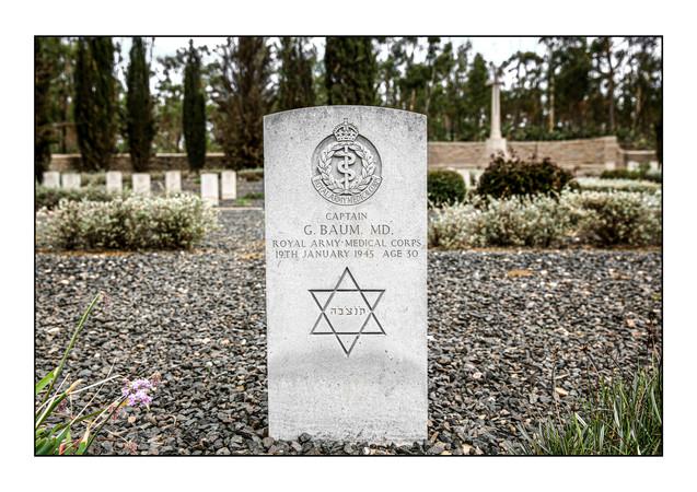 Asmara War Cemetery.   Asmara, Eritrea.