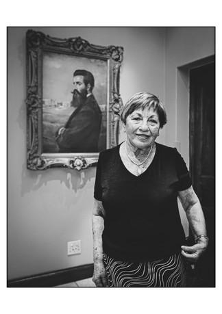 Ascia Lieberman (Lithuania), Holocaust survivor.   Johannesburg, Gauteng, South Africa.