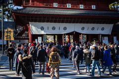 Zojoji Temple. Minato, Tokyo.