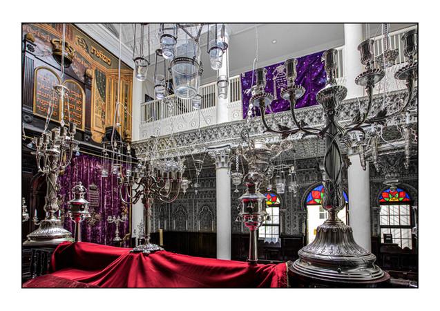 Synagogue Nahon-Massat Moshe.  Tangier, Morocco.