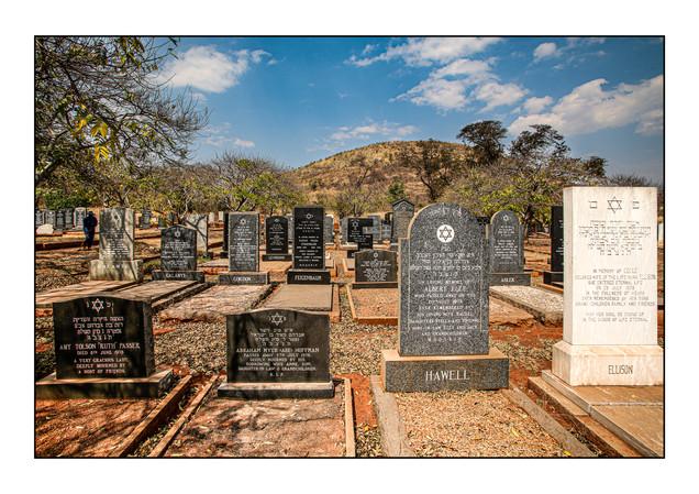 Warren Hills Jewish Cemetery.   Harare, Zimbabwe.