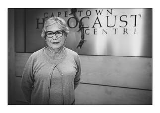 Hélène Joffe (France), Holocaust survivor.  Cape Town, Western Cape, South Africa.