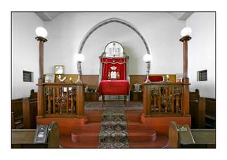 Windhoek Hebrew Congregation Synagogue.   Windhoek, Namibia.