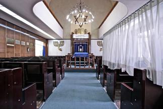 Agudas Ajim Synagogue, a.k.a Sinagoga de Avenida Parral. Mexico City, Mexico.