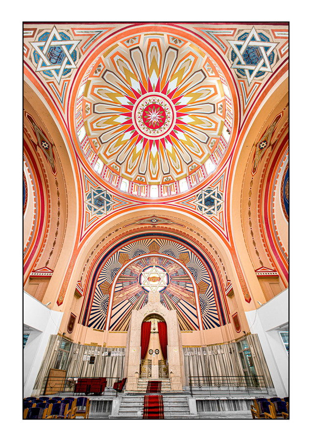 Great (Grand) Synagogue.   Tunis, Tunisia.