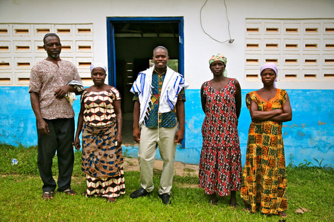 Tifereth Israel Synagogue, House of Israel Jewish Community. New Adiembra, Ghana.