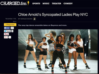 CHARGED.fm reviews Syncopated Ladies: Live in NYC