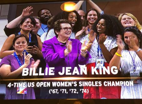 US OPEN - BILLIE JEAN KING'S LEADERSHIP INITIATIVE