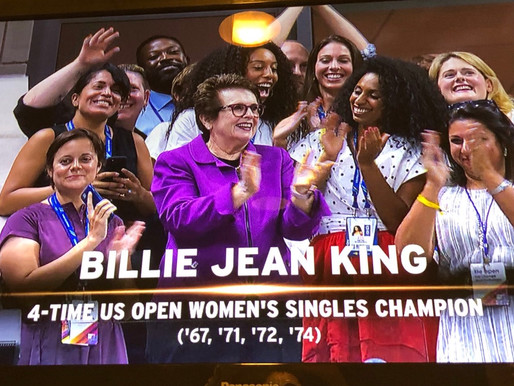 US OPEN - BILLIE JEAN KING'S LEADERSHIP INITIATIVE