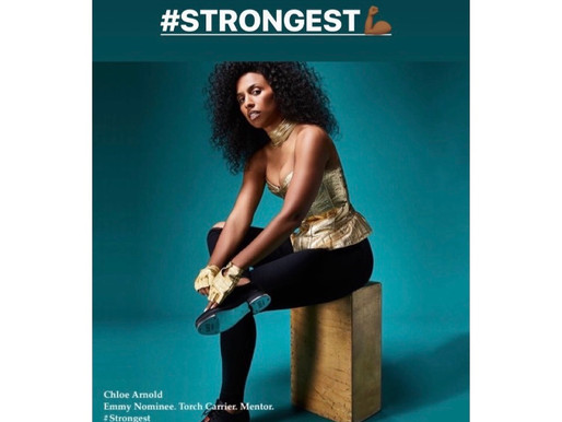 "Lebron James + NIKE + ESSENCE feat. Chloe Arnold as one of the ""STRONGEST"""