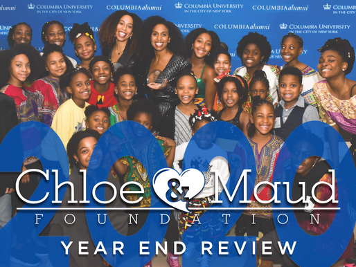 Chloé and Maud Foundation - 2020 Year End Review