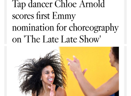 CHLOE ARNOLD IS NOMINATED FOR AN EMMY!!