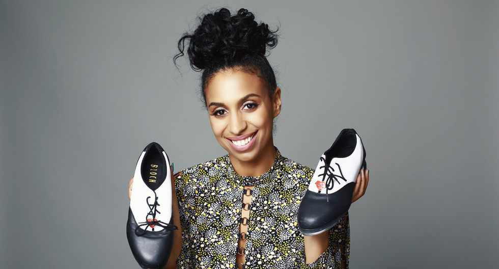 CHLOE ARNOLD TAP DANCER EMMY NOMINATED HAPPINESS IS.JPG