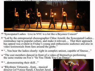 Syncopated Ladies in The New York Times