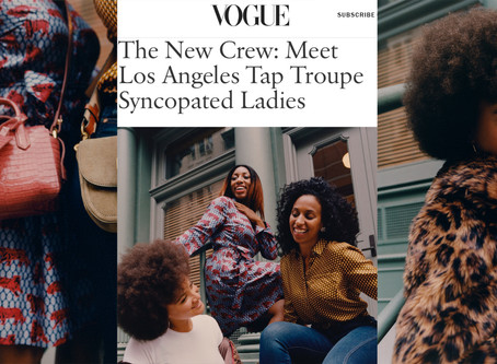 VOGUE features Syncopated Ladies