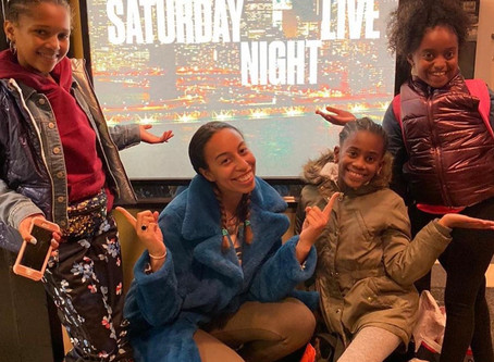 Chloe and Maud Foundation Kids on SNL!! ❤️🙏🏾