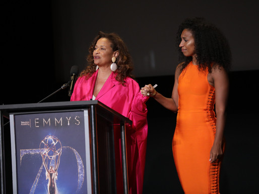 DEBBIE ALLEN PRESENTS CHLOE'S EMMY NOMINATION AT TELEVISION ACADEMY