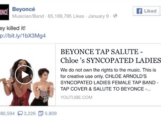 Beyonce Shares Video Via Facebook! Goes Viral!