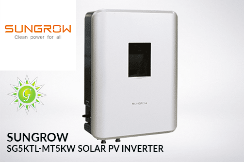 SUNGROW SG5KTL-MT 5KW SOLAR PV INVERTER.