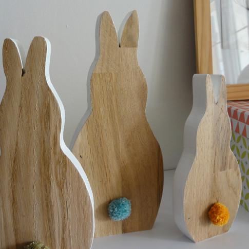 Trio de lapins