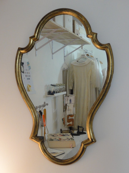 Atelier de création écoresponsable. jeu de miroir.