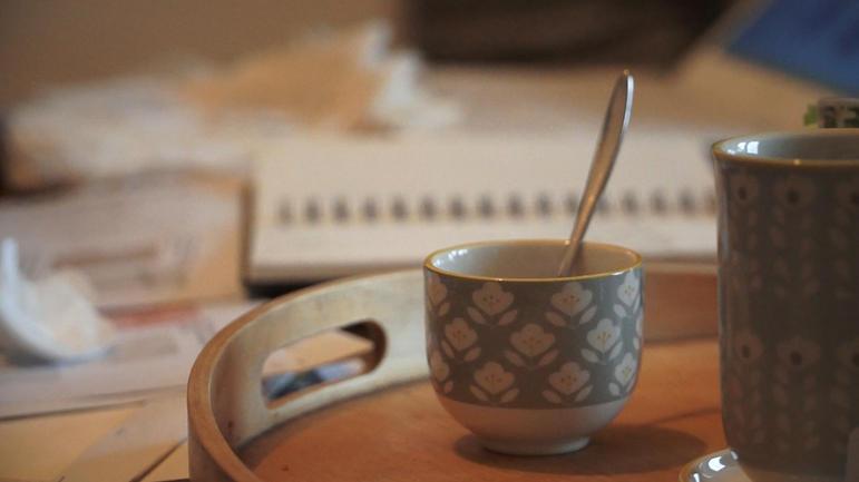 1er rendez-vous, prise de connaissance autour d'un thé.