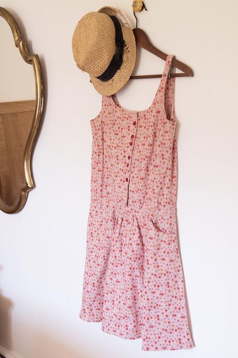 Petite robe retro Claire. version courte.