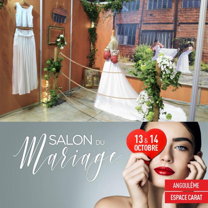 Salon du Mariage - 13&14 octobre 2018 - Angoulême.