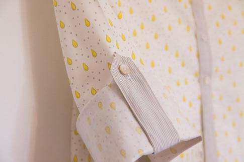 Jolie popeline de coton oeko-tex pour un chemisier doux et féminin.