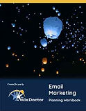 Email Marketing Planning Workbook Cover