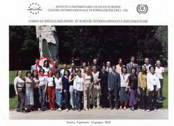 IUSE - Scienze Diplomatiche, classe 2002