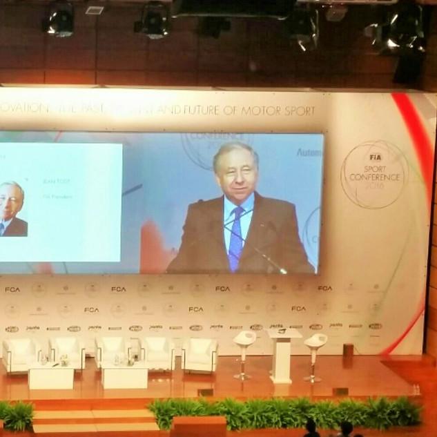 FIA World Congress, Jean Todt