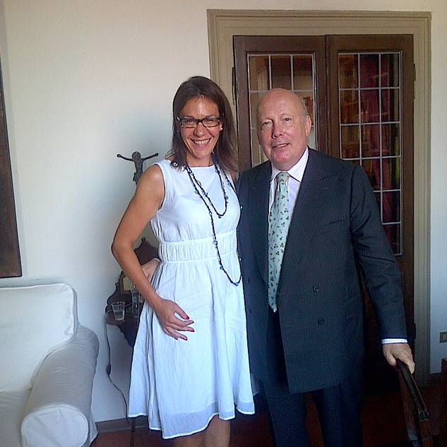 Lord Julian Fellowes, the creator of Downton Abbey