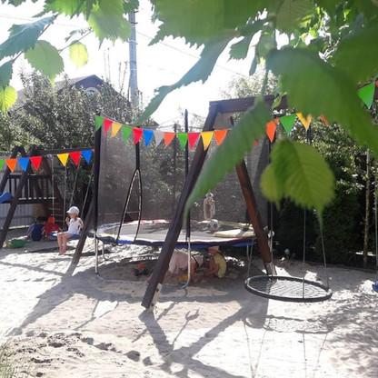 батут детский садик