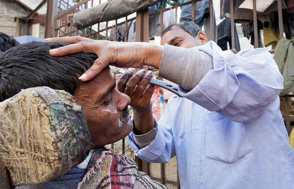 Barber, India