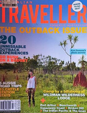 Arnhem Diary Cover Australian Traveller.