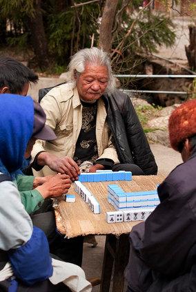 Mahjong, China