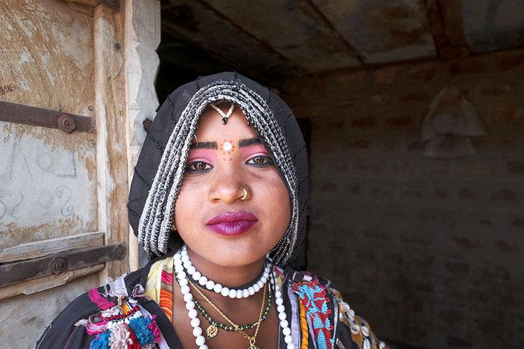 Kalbelia Dancer, India