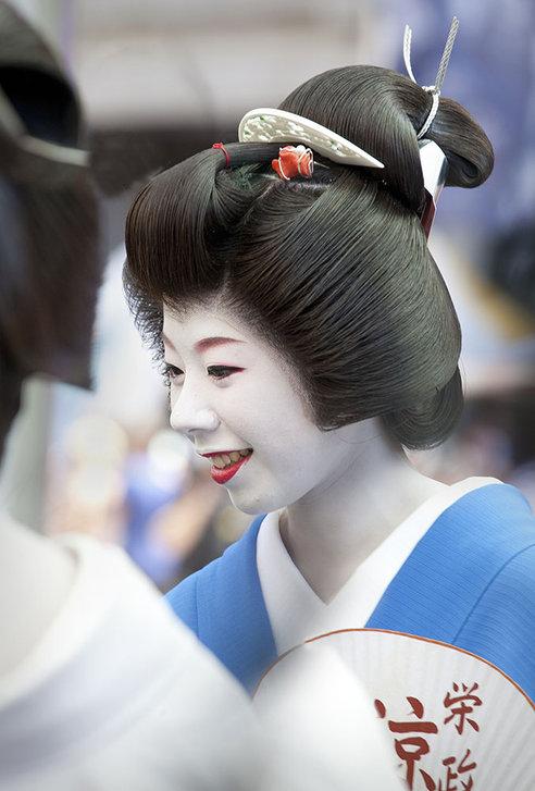 Geisha woman