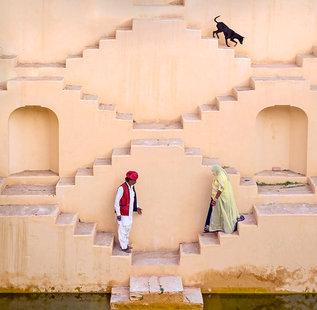 Stepwell, Jaipur, India